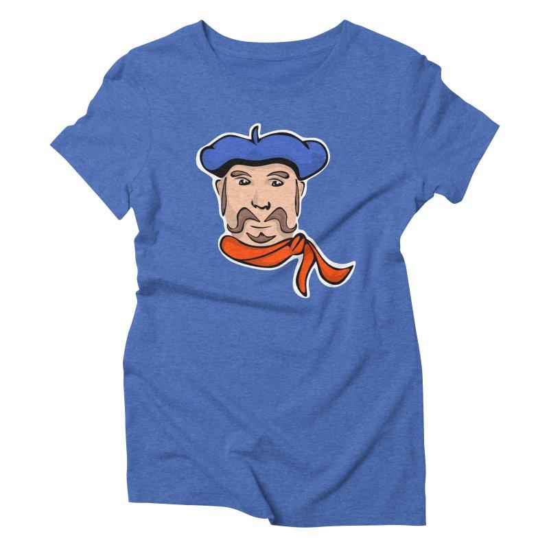 Pierre Mondeaux Women's Triblend T-shirt by elledeegee's Artist Shop