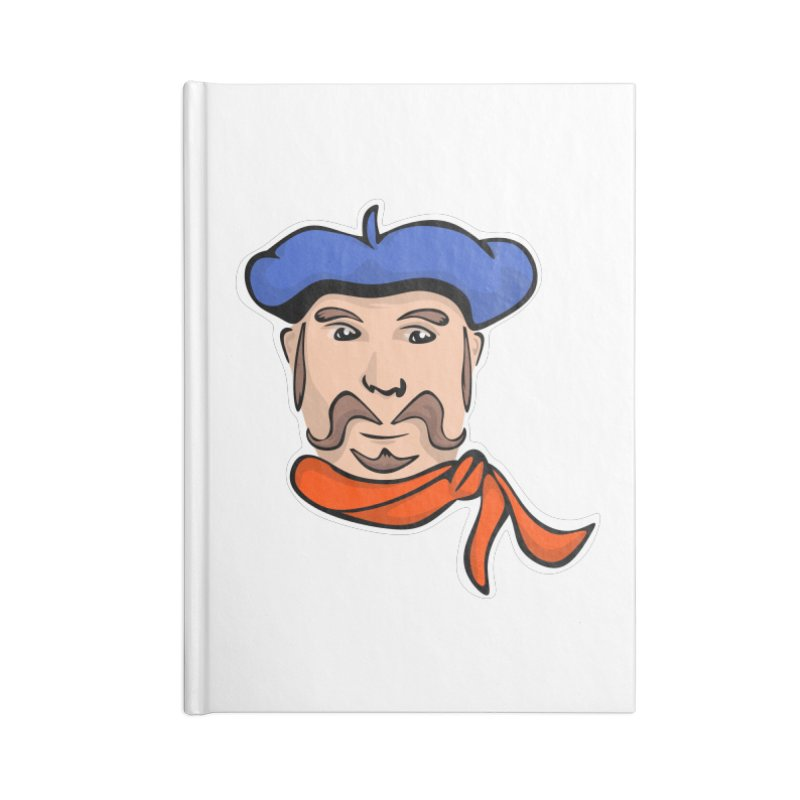 Pierre Mondeaux Accessories Notebook by elledeegee's Artist Shop