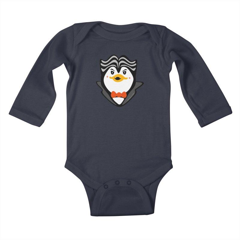 Count Niugnep Kids Baby Longsleeve Bodysuit by elledeegee's Artist Shop