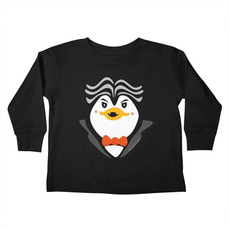 Count Niugnep Kids Toddler Longsleeve T-Shirt by elledeegee's Artist Shop