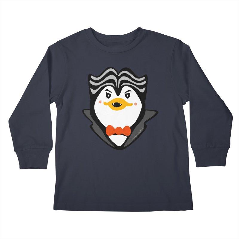 Count Niugnep Kids Longsleeve T-Shirt by elledeegee's Artist Shop