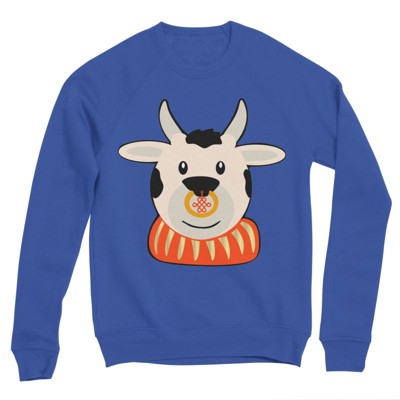Year of the Ox Men's Sweatshirt by elledeegee's Artist Shop