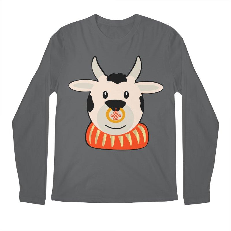 Year of the Ox Men's Longsleeve T-Shirt by elledeegee's Artist Shop