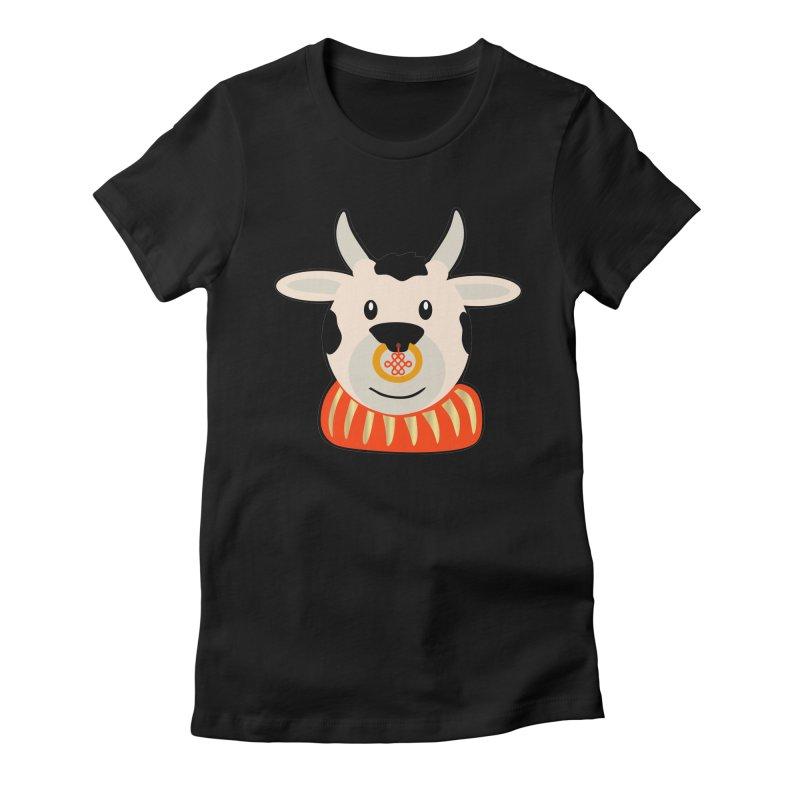 Year of the Ox Women's T-Shirt by elledeegee's Artist Shop