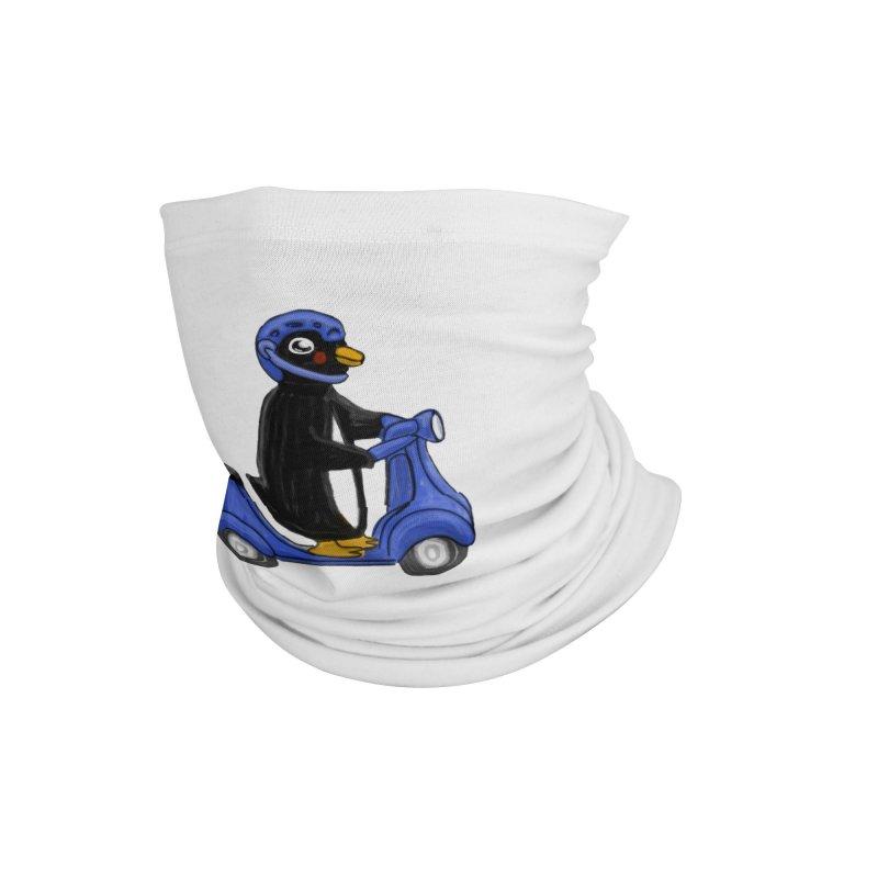 Scooting Penguin Accessories Neck Gaiter by elledeegee's Artist Shop