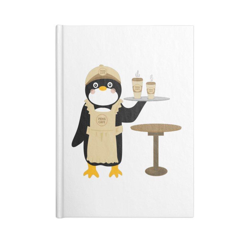 Peng Cafe Accessories Notebook by elledeegee's Artist Shop