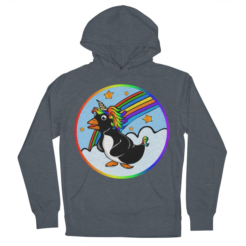 Pengicorn Men's Pullover Hoody by elledeegee's Artist Shop