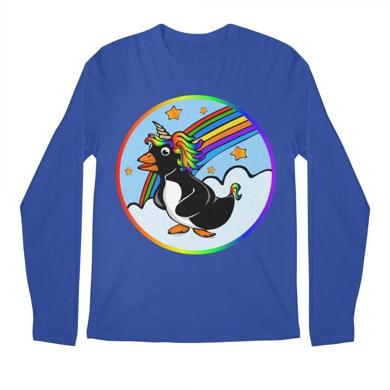 Pengicorn Men's Regular Longsleeve T-Shirt by elledeegee's Artist Shop