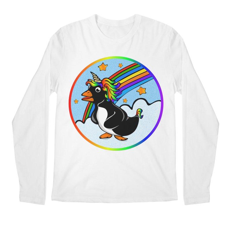 Pengicorn Men's Longsleeve T-Shirt by elledeegee's Artist Shop