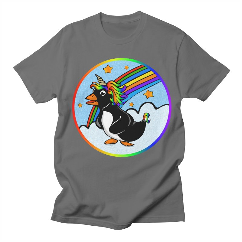 Pengicorn Men's Regular T-Shirt by elledeegee's Artist Shop