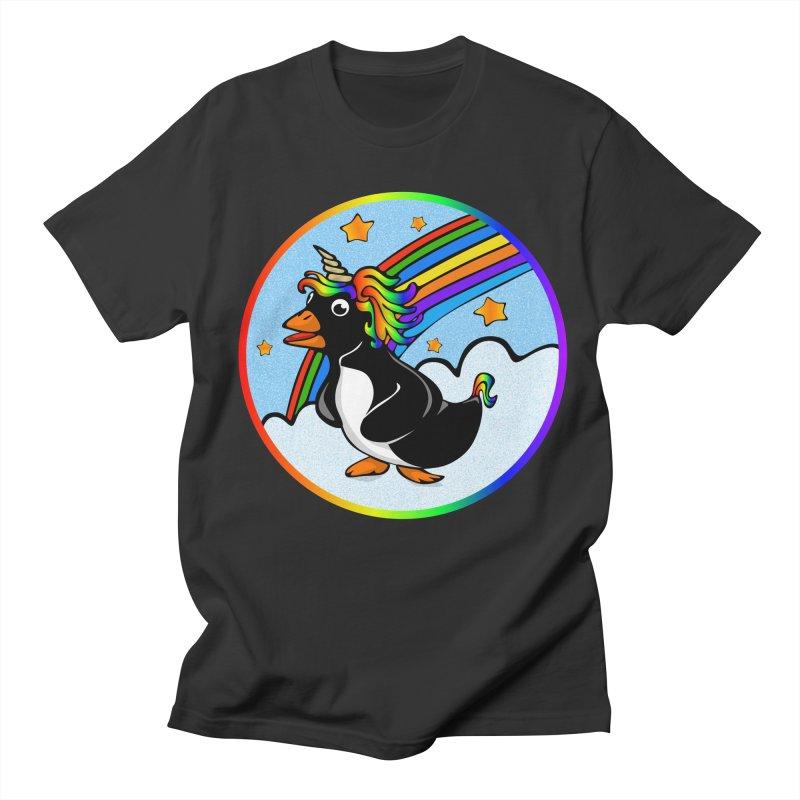 Pengicorn Men's T-Shirt by elledeegee's Artist Shop