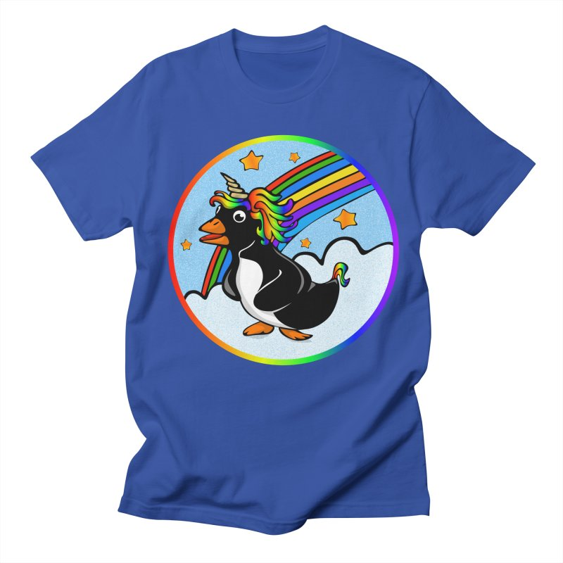 Pengicorn Men's T-shirt by elledeegee's Artist Shop