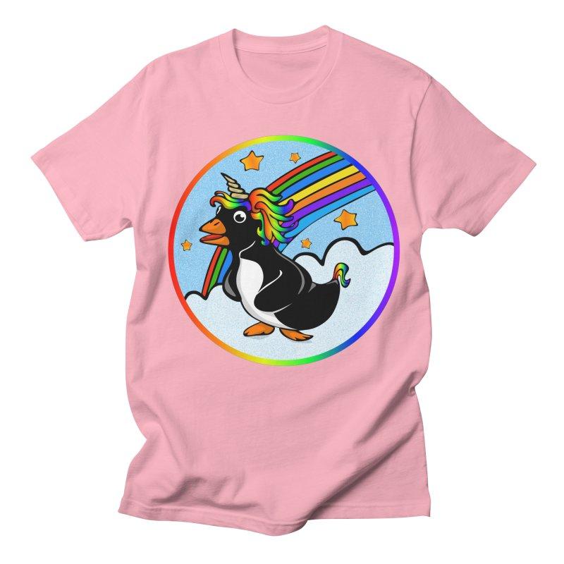 Pengicorn Women's Regular Unisex T-Shirt by elledeegee's Artist Shop