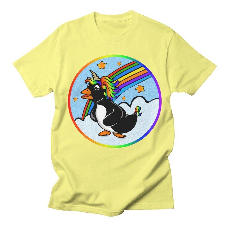 Pengicorn Women's Unisex T-Shirt by elledeegee's Artist Shop