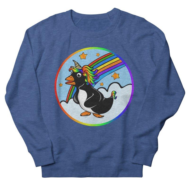 Pengicorn Women's French Terry Sweatshirt by elledeegee's Artist Shop