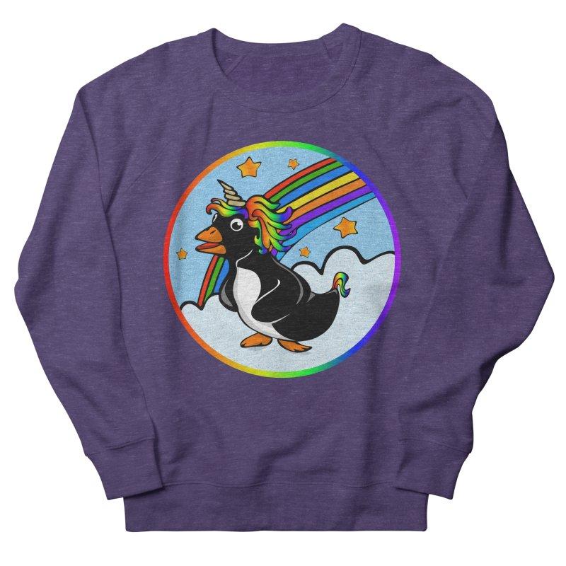 Pengicorn Men's French Terry Sweatshirt by elledeegee's Artist Shop