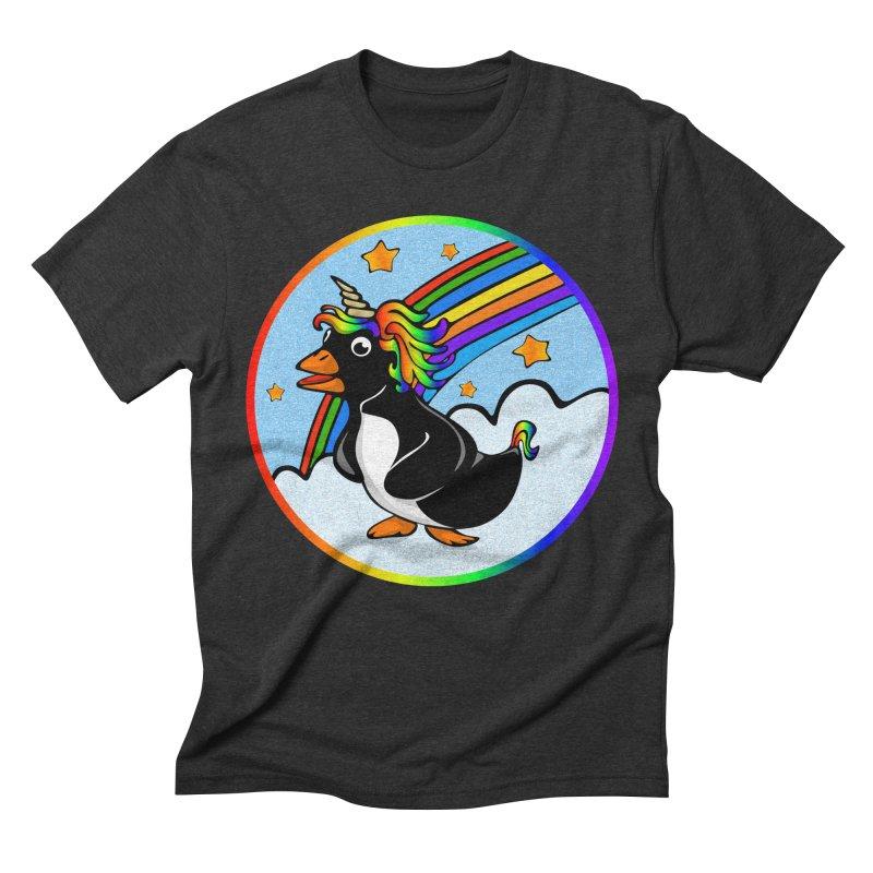 Pengicorn Men's Triblend T-Shirt by elledeegee's Artist Shop
