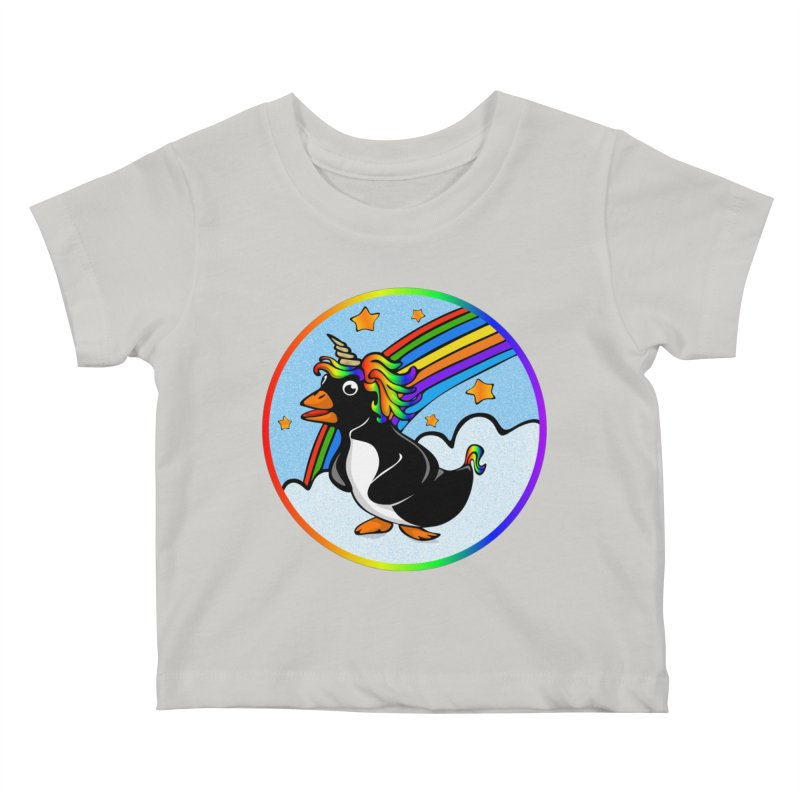 Pengicorn Kids Baby T-Shirt by elledeegee's Artist Shop