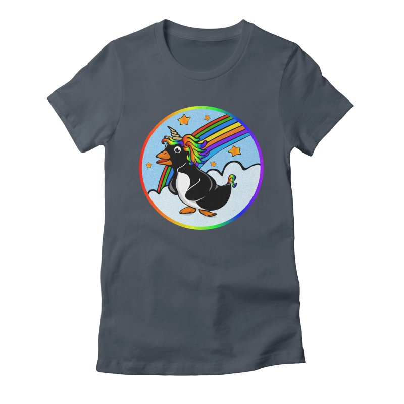 Pengicorn Women's T-Shirt by elledeegee's Artist Shop
