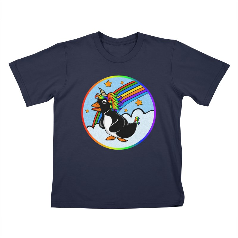 Pengicorn Kids T-Shirt by elledeegee's Artist Shop