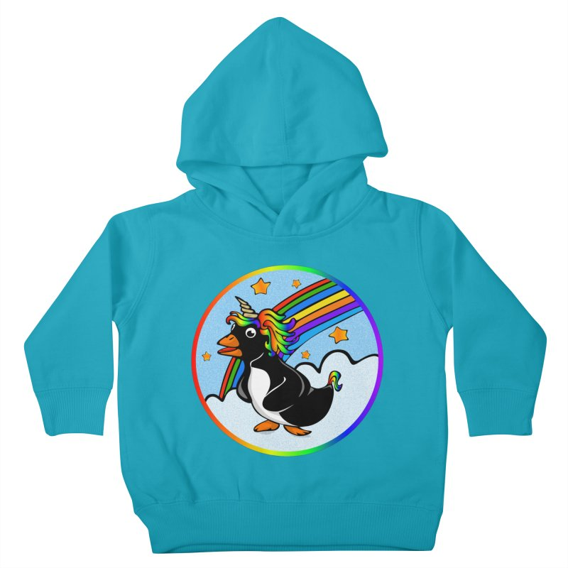 Pengicorn Kids Toddler Pullover Hoody by elledeegee's Artist Shop