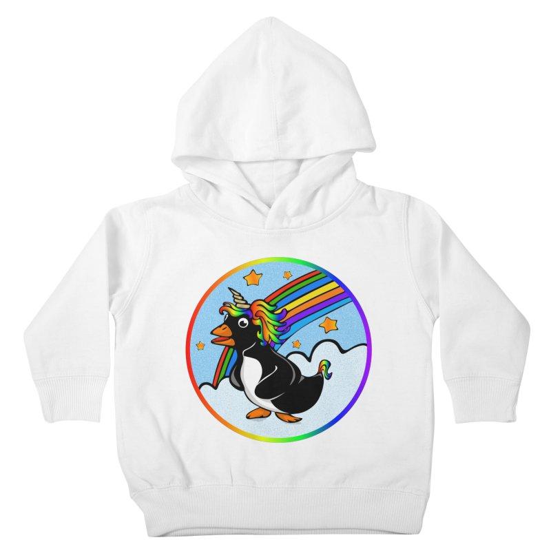 Pengicorn Kids Toddler Pullover Hoody by elledeegee's Artist Shop