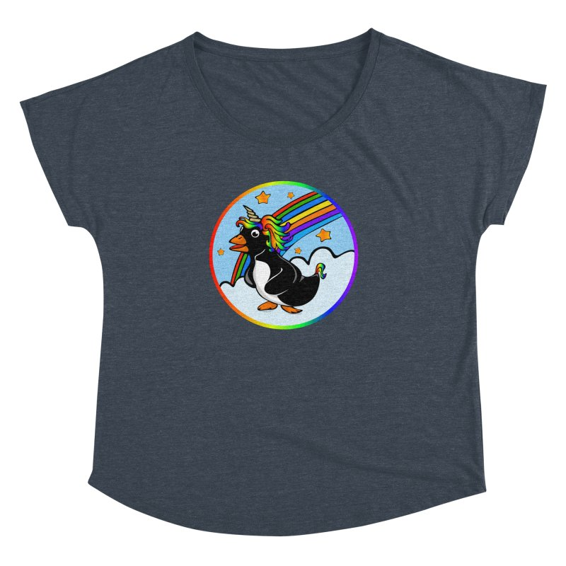 Pengicorn Women's Dolman by elledeegee's Artist Shop