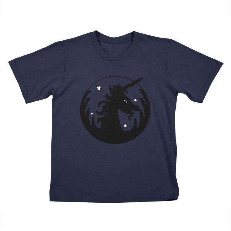 Magical Silhouette Kids Toddler T-Shirt by elledeegee's Artist Shop