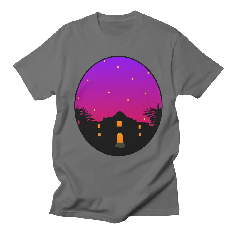 Night at the Alamo Men's T-Shirt by elledeegee's Artist Shop