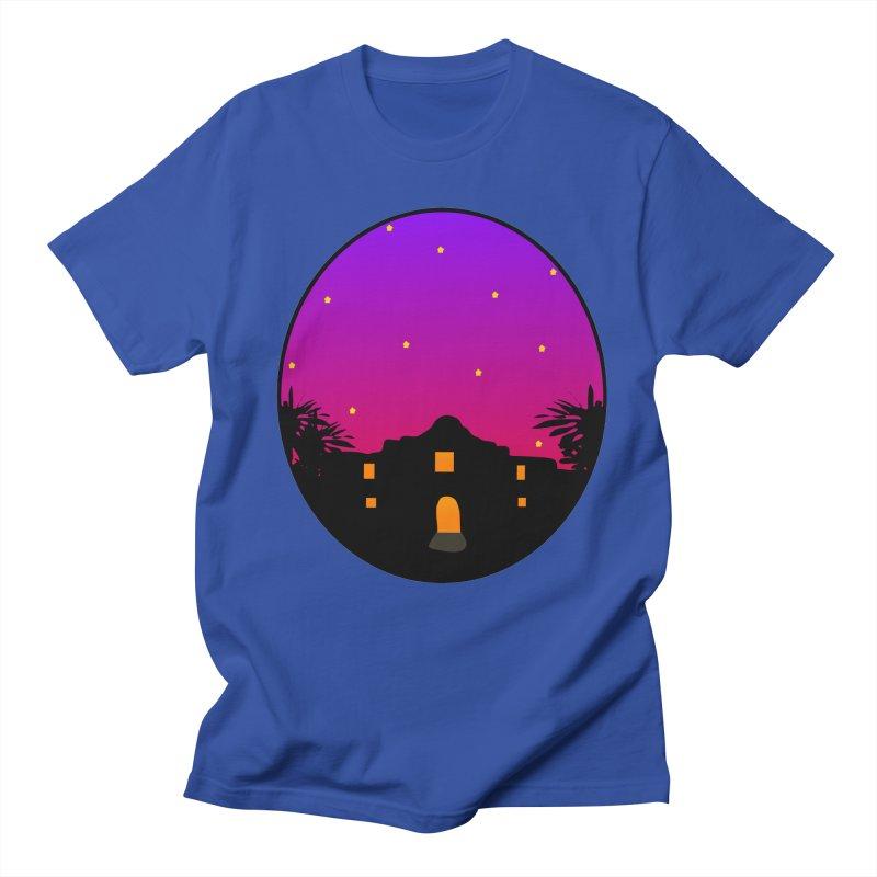 Night at the Alamo Men's T-Shirt by elledeegee's Artist Shop