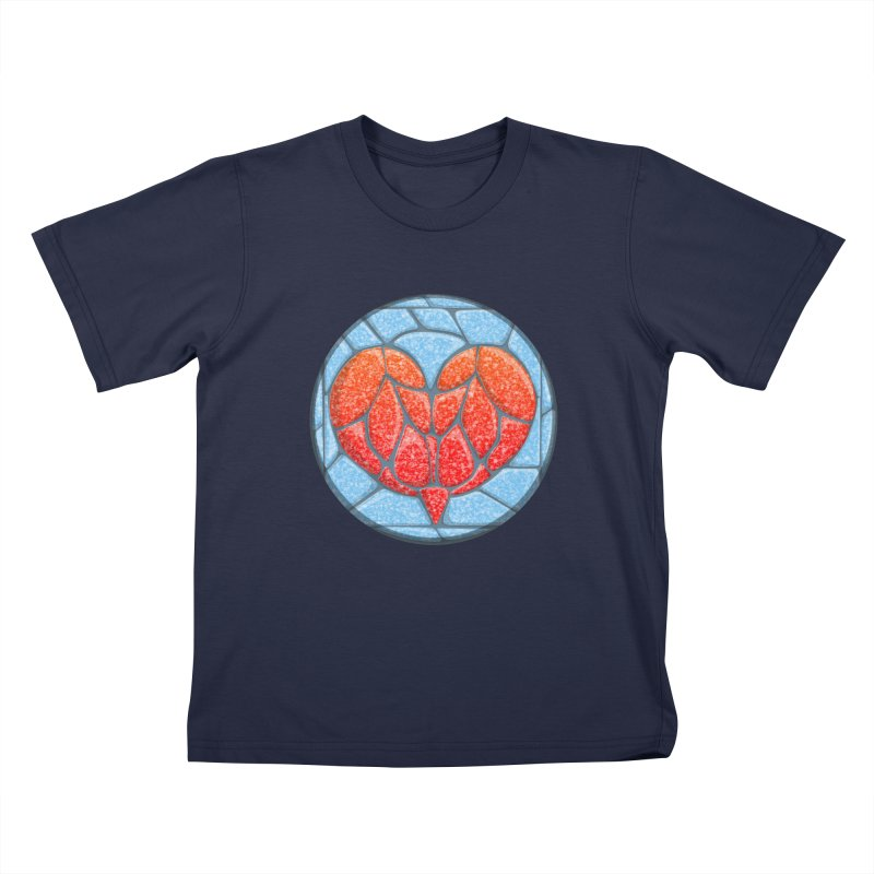 Stone Heart Kids Toddler T-Shirt by elledeegee's Artist Shop