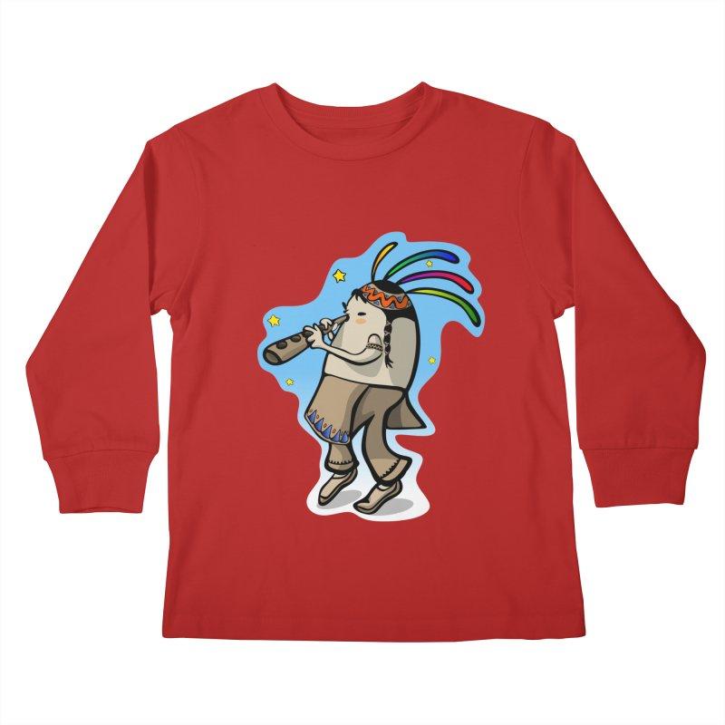 Kokopeggli Kids Longsleeve T-Shirt by elledeegee's Artist Shop