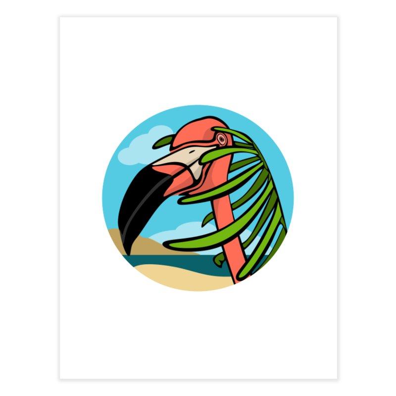 Flamingo Palm   by elledeegee's Artist Shop