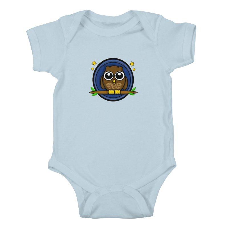 Night Al Kids Baby Bodysuit by elledeegee's Artist Shop