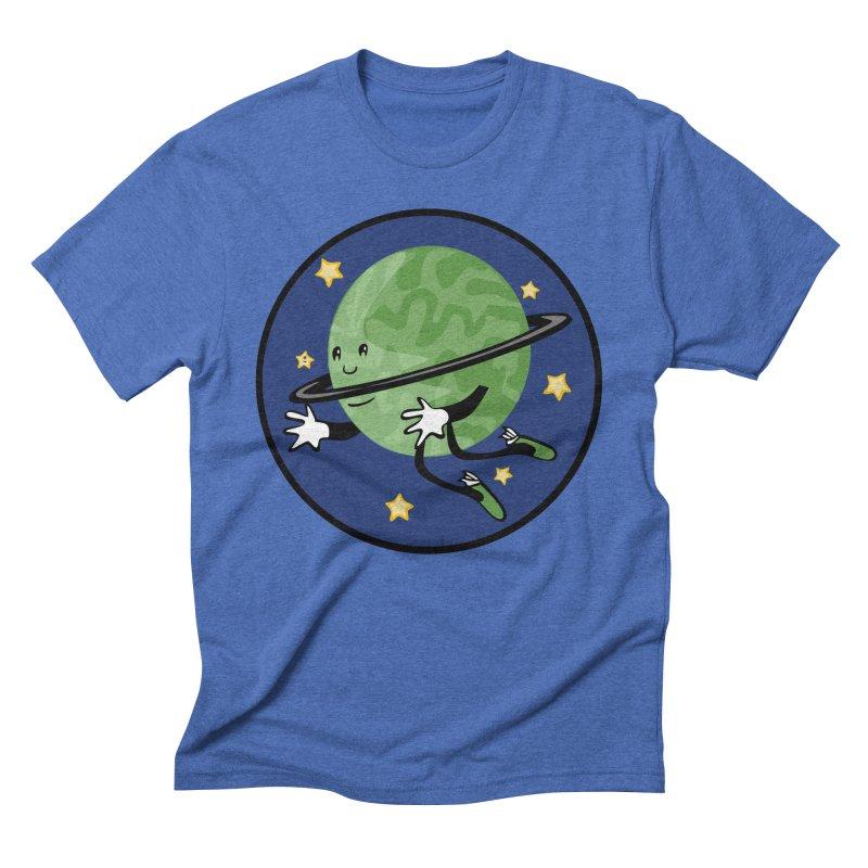 Planetary Friendship Men's T-Shirt by elledeegee's Artist Shop