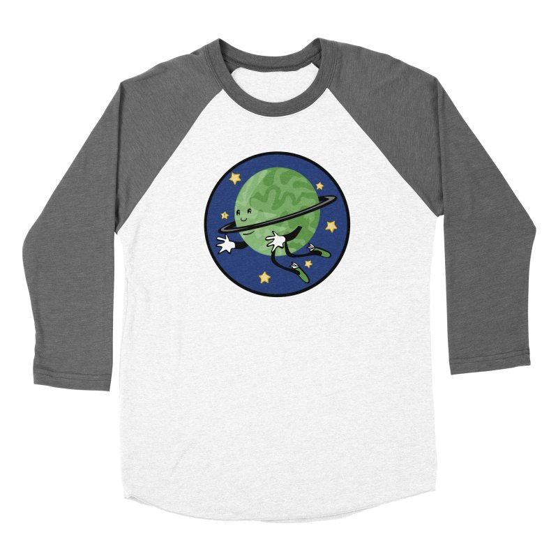 Planetary Friendship Women's Longsleeve T-Shirt by elledeegee's Artist Shop
