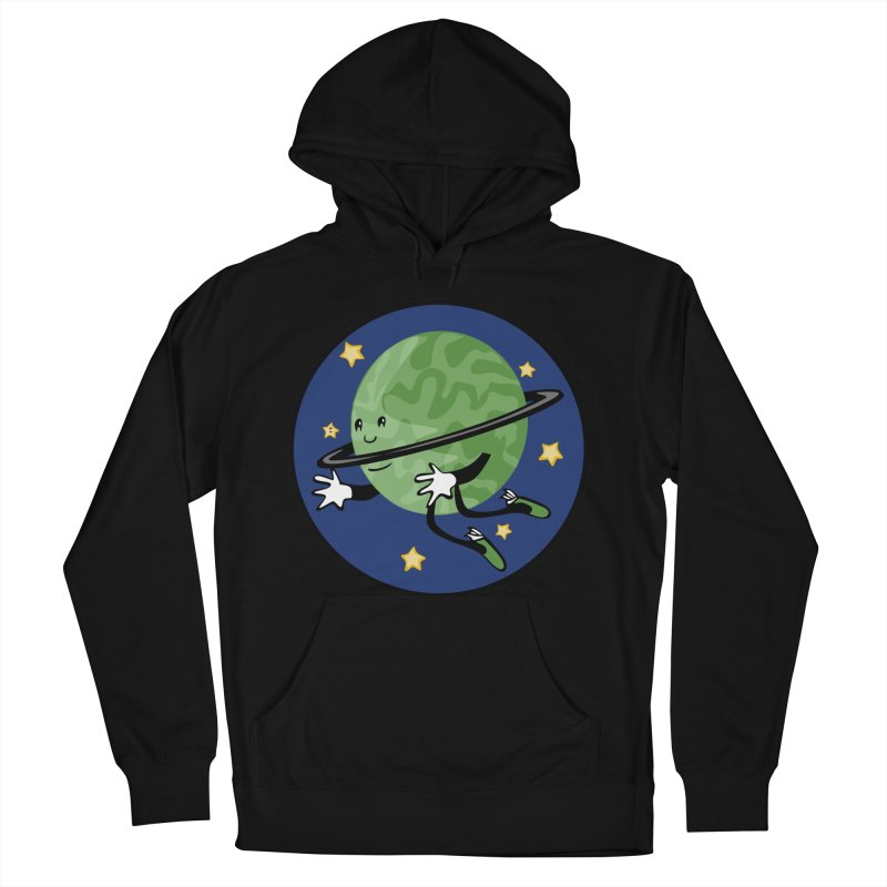 Planetary Friendship Women's French Terry Pullover Hoody by elledeegee's Artist Shop