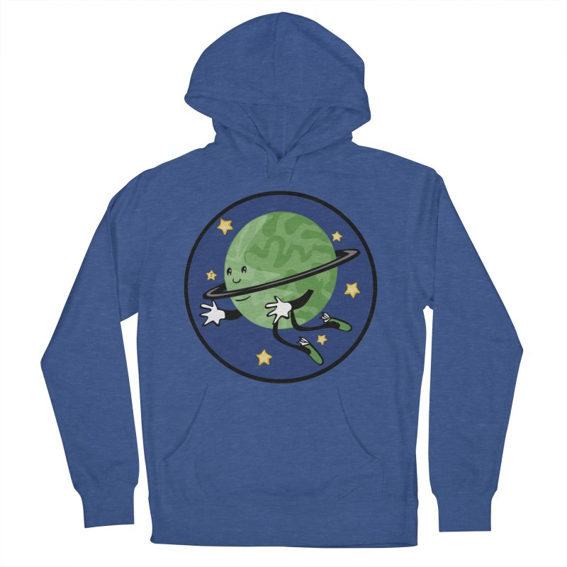 Planetary Friendship Men's Pullover Hoody by elledeegee's Artist Shop