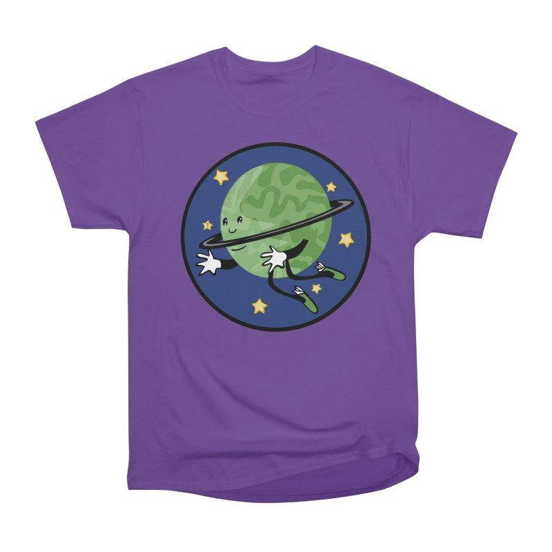 Planetary Friendship Men's Heavyweight T-Shirt by elledeegee's Artist Shop