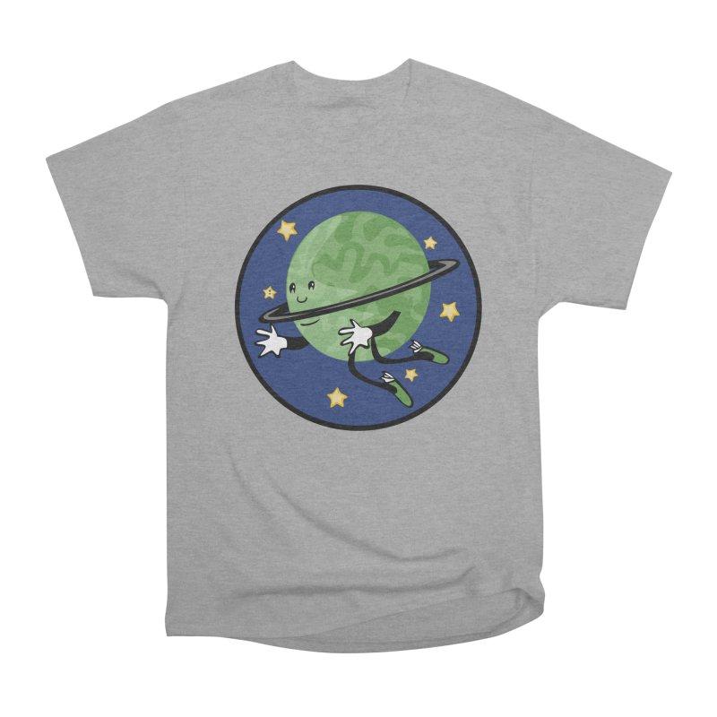 Planetary Friendship Women's Heavyweight Unisex T-Shirt by elledeegee's Artist Shop