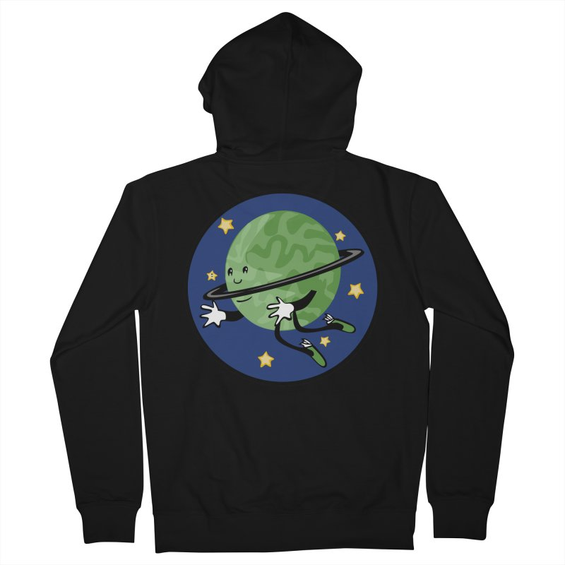 Planetary Friendship Women's Zip-Up Hoody by elledeegee's Artist Shop