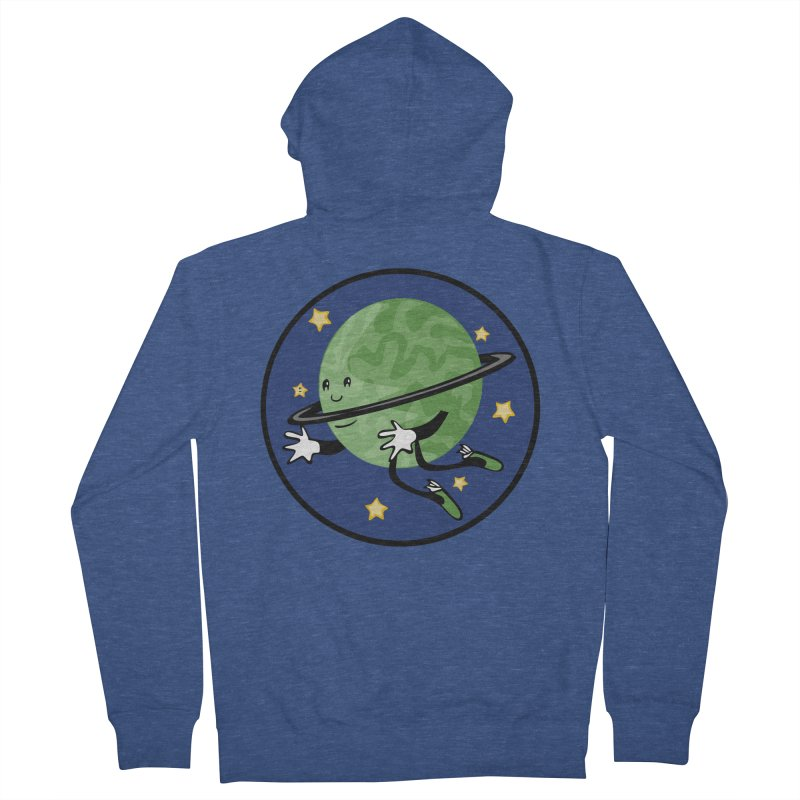 Planetary Friendship Men's Zip-Up Hoody by elledeegee's Artist Shop