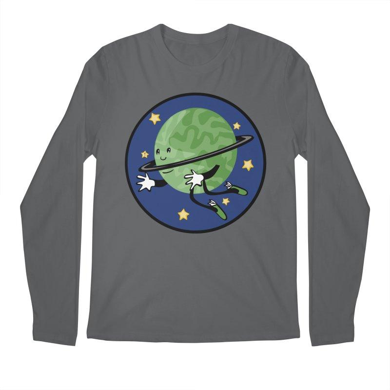 Planetary Friendship Men's Longsleeve T-Shirt by elledeegee's Artist Shop