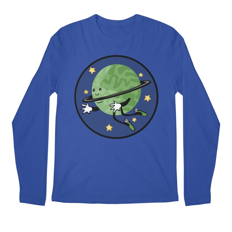 Planetary Friendship Men's Regular Longsleeve T-Shirt by elledeegee's Artist Shop