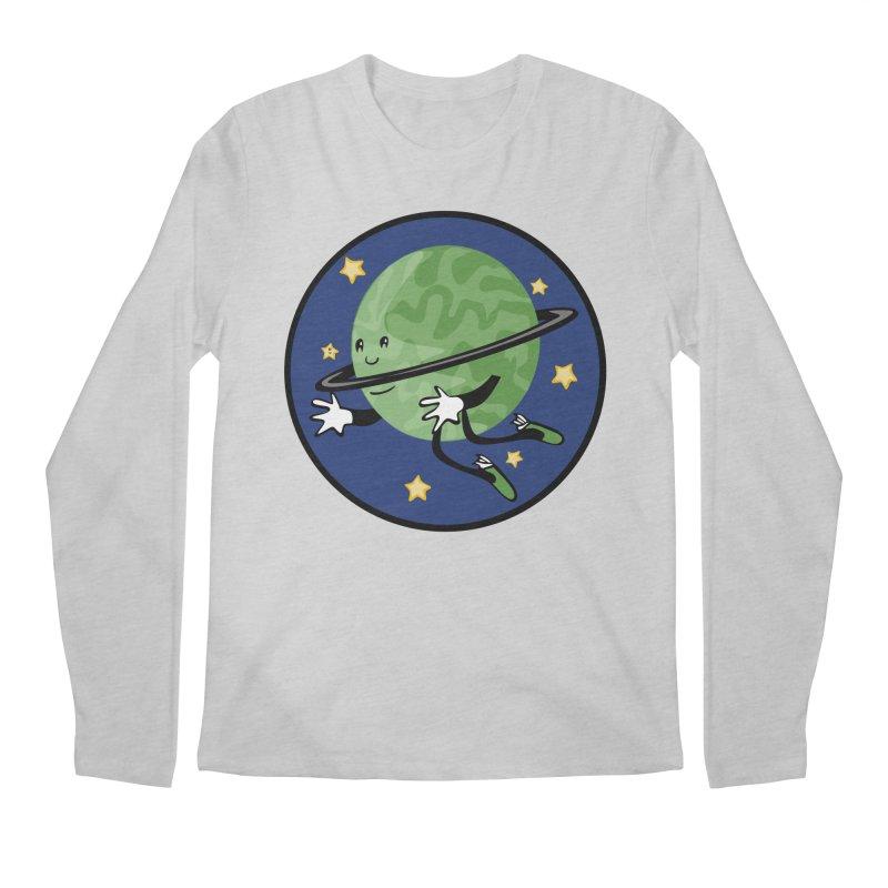 Planetary Friendship Men's Regular Longsleeve T-Shirt by elledeegee's Artist Shop