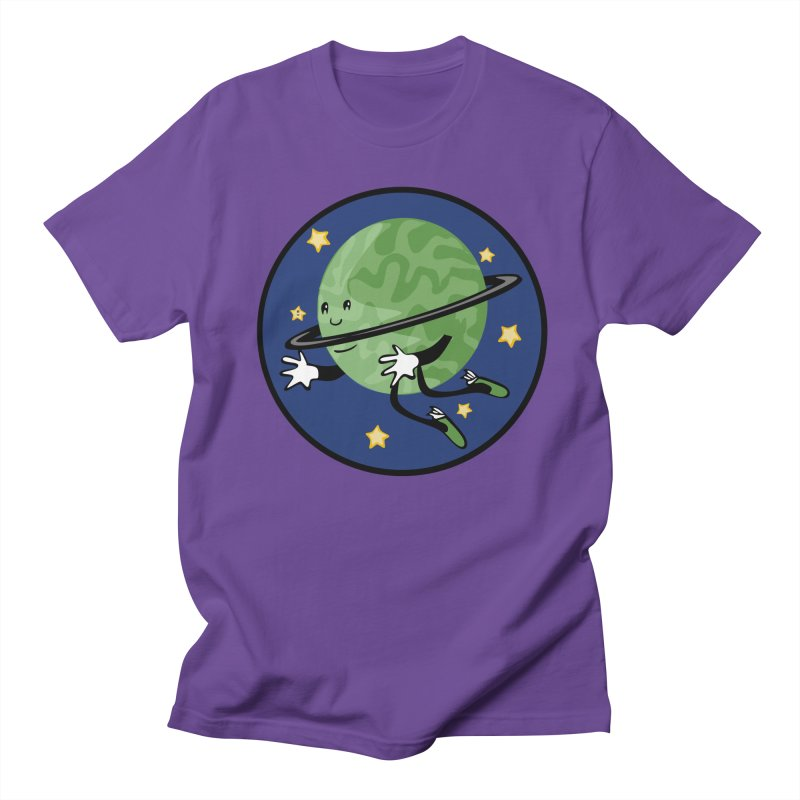 Planetary Friendship Men's Regular T-Shirt by elledeegee's Artist Shop