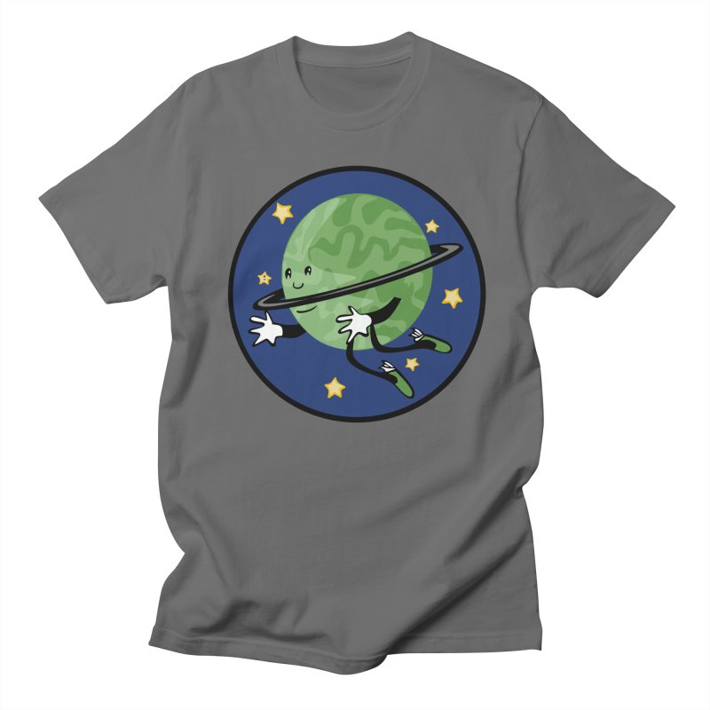 Planetary Friendship Men's T-Shirt by elledeegee's Artist Shop
