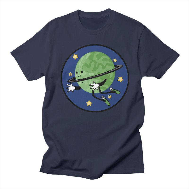 Planetary Friendship Men's Regular T-Shirt by elledeegee's Artist Shop