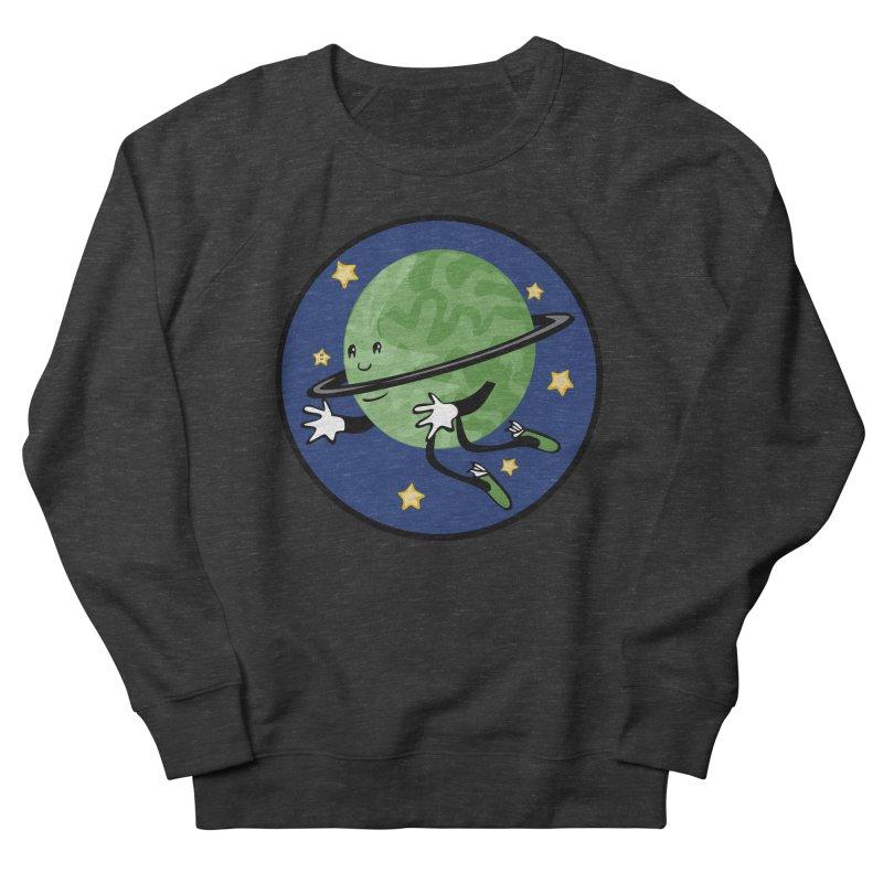 Planetary Friendship Men's French Terry Sweatshirt by elledeegee's Artist Shop