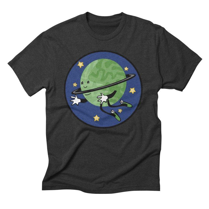 Planetary Friendship Men's Triblend T-Shirt by elledeegee's Artist Shop